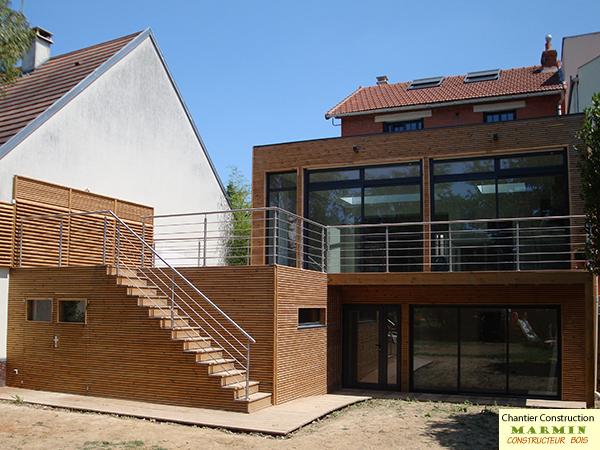 constructeur maison ossature bois construction maison passive marmin constructeur bois dans le